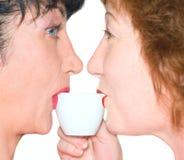 Liebeskaffee stockbild