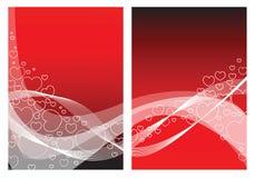 Liebeskarte mit Inneren vektor abbildung