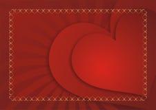 Liebeskartenhintergrund Lizenzfreie Stockbilder