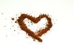 Liebeskunstkaffee Lizenzfreie Stockbilder