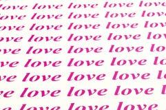 Liebesliebesliebe Stockfotografie