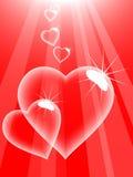 Liebesluftblasen. Stockfotografie
