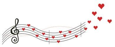 Liebesmusik Stockbilder