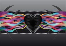 Liebesmusik Stockbild