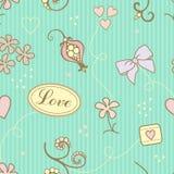 Liebesmuster stock abbildung