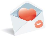 Liebespost Lizenzfreies Stockbild