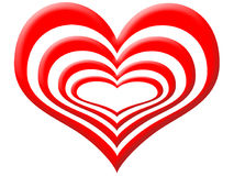 Liebesschichten vektor abbildung