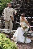 Liebessitzung Stockfoto