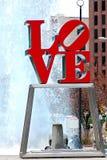 Liebesstatue Lizenzfreies Stockbild