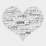 Liebessymbol lizenzfreie abbildung