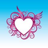 Liebessymbolauslegung stock abbildung