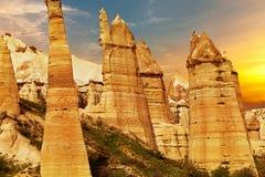 Liebestal nahe Goreme, die Türkei stockbild