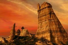 Liebestal nahe Goreme, die Türkei stockfoto