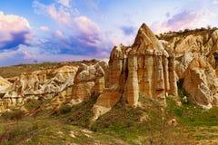 Liebestal nahe Goreme, die Türkei lizenzfreie stockbilder