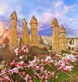 Liebestal nahe Goreme, die Türkei lizenzfreie stockfotos