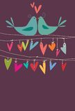 Liebesvögel Lizenzfreies Stockfoto
