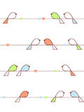Liebesvögel Lizenzfreie Stockfotografie