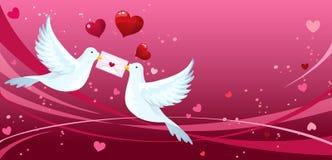 Liebesvögel Lizenzfreies Stockbild