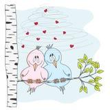 Liebesvögel Lizenzfreie Stockbilder