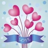 Liebesvektorillustration Stockfotos