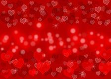Liebeswellenmuster stock abbildung
