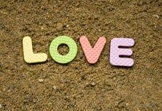 Liebeszeichen Stockfoto