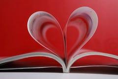 Liebeszeitschrift stockbilder
