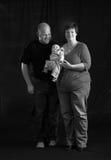 Liebevolle Familie lizenzfreies stockbild