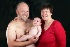 Liebevolle Familie stockfotos
