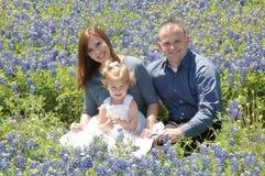 Liebevolle Familie Lizenzfreie Stockfotos