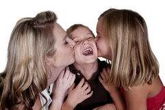 Liebevolle Familie Lizenzfreies Stockfoto