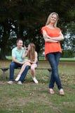 Liebevolle Familie Lizenzfreie Stockfotografie