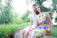 Liebevolle Leute Stockfotos