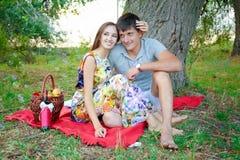 Liebevolle Leute Lizenzfreie Stockfotos