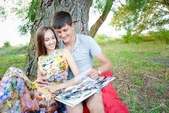 Liebevolle Leute Lizenzfreie Stockbilder