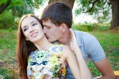 Liebevolle Leute Stockfotografie
