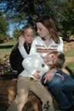 Liebevolle Mamma Lizenzfreies Stockbild