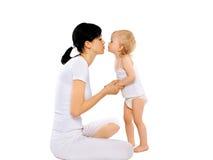 Liebevolle Mutter und Tochter Lizenzfreie Stockfotografie