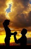 Liebevolle Paare Lizenzfreies Stockbild