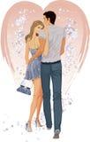 Liebevolle Paare stock abbildung