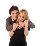 Liebevolle Paare. Stockfoto