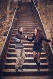 Liebevolle Paare in der Liebe lizenzfreie stockfotos