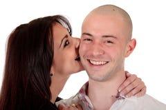 Liebevolle Paare des Heterosexuellen Lizenzfreie Stockbilder
