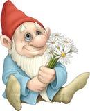 Liebevoller Gnome Stockfoto