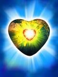 Liebevoller Planet Lizenzfreie Stockbilder