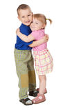 Liebevolles Kind zwei stockfotografie