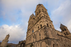 Liebfrauen kościelny andernach Germany obrazy stock