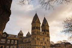 Liebfrauen kościelny andernach Germany Obraz Stock