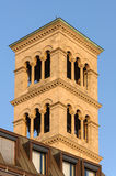 Liebfrauen tower bell in Zurich Royalty Free Stock Photography