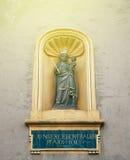Liebfrauenkirche γερμανικά για την εκκλησία του γυναικείου αγάλματός μας Στοκ φωτογραφία με δικαίωμα ελεύθερης χρήσης